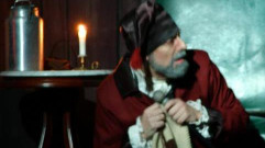 Scrooge played by William L. Hahn