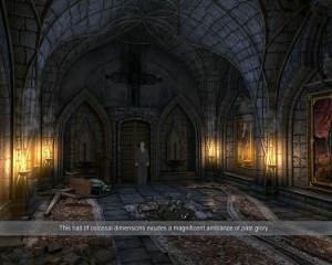 Drac Castle interior