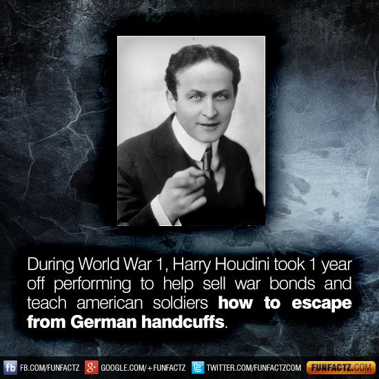 harry houdini essay